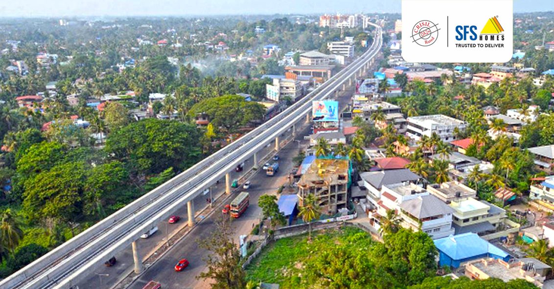 Kochi's Metro Connectivity Influencing Real Estate