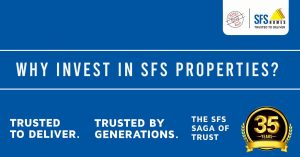 SFS HOMES - The most trusted name among Builders in Kerala over three decades with premium apartments, flats in Cochin Trivandrum Kottayam and Guruvayur. Premium 1 2 3 & 4 BHK Luxury Apartments at a prime location in Cochin Trivandrum Kottayam Guruvayur Kochi Vazhayila Kakkanad Edappally near Lulu Mall Kochi Cochin near Technopark