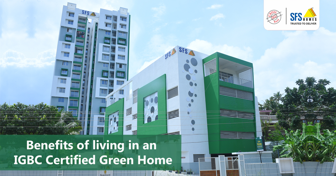 Benefits of living in an IGBC Certified Green Home