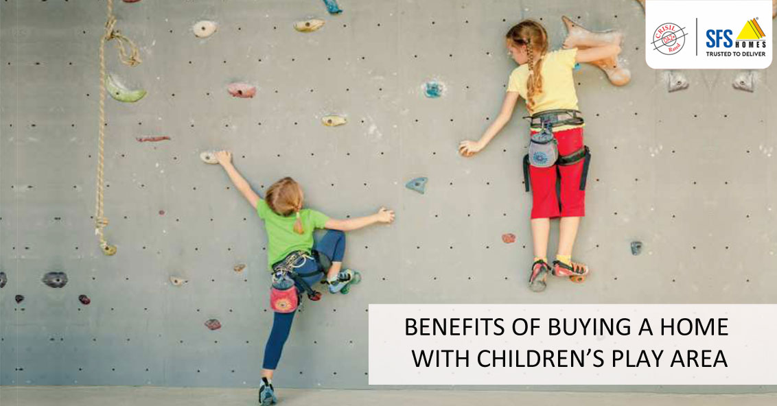 BENEFITS OF BUYING A HOME WITH CHILDREN'S PLAY AREA
