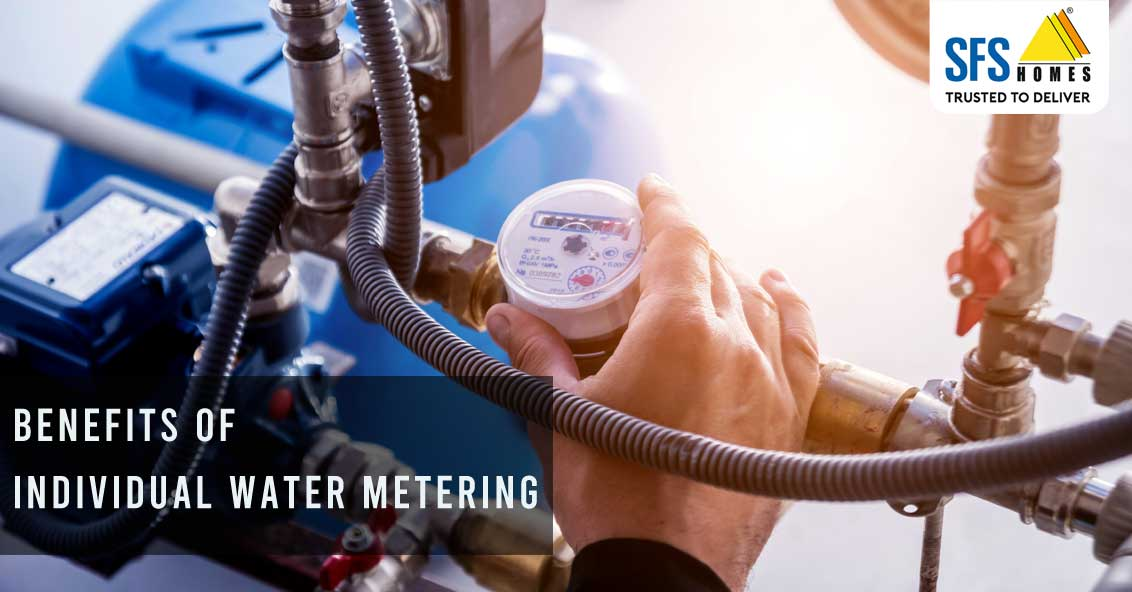 Individual water metering benefits