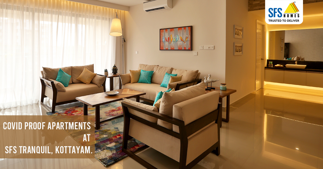 LUXURY 3 & 4 BHK READY TO MOVE IN APARTMENTS AT KOTTAYAM