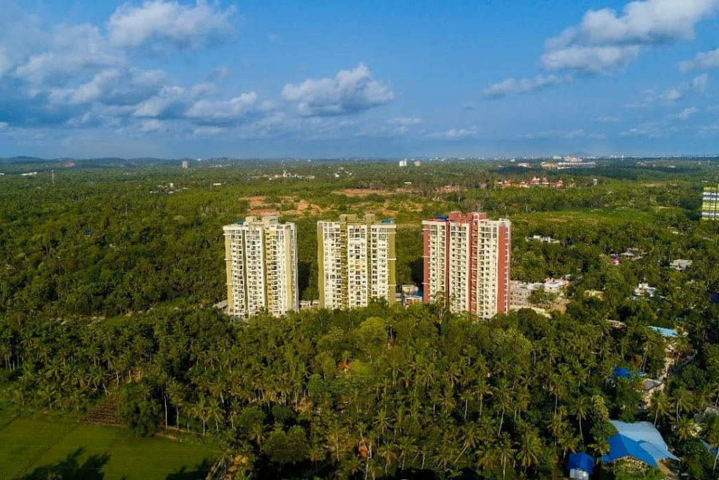 SFS Cyber Gateway - Ready To Move In Apartments At Kazhakoottam